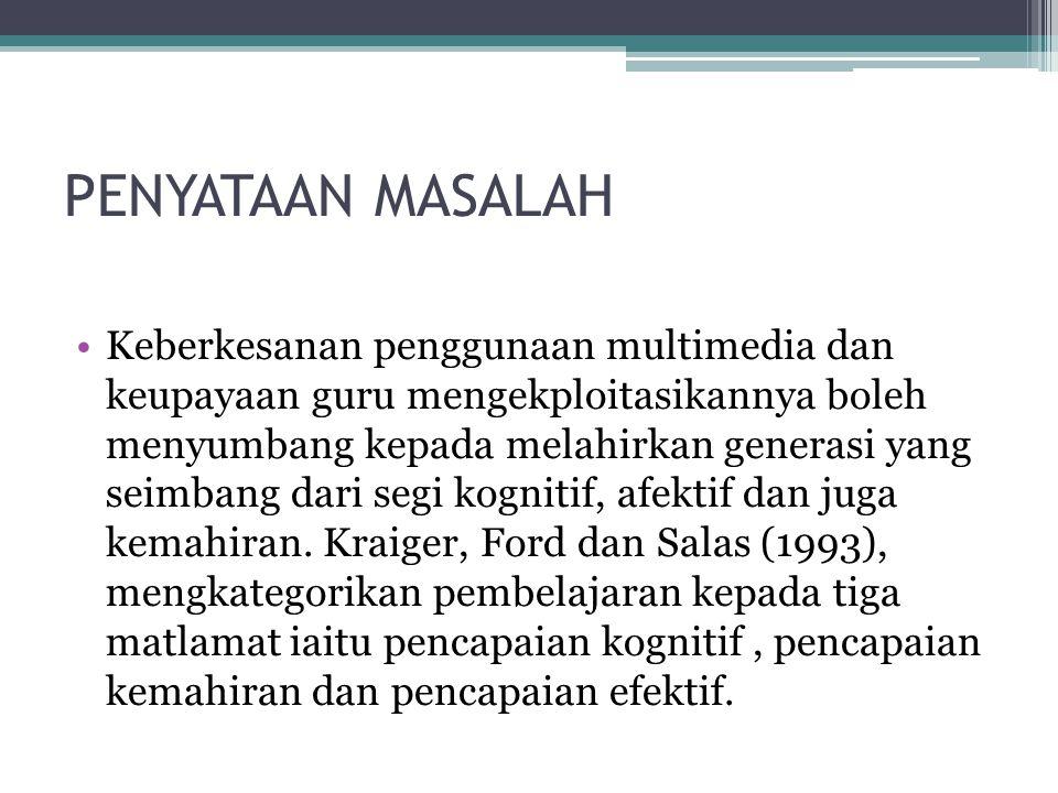 PENYATAAN MASALAH