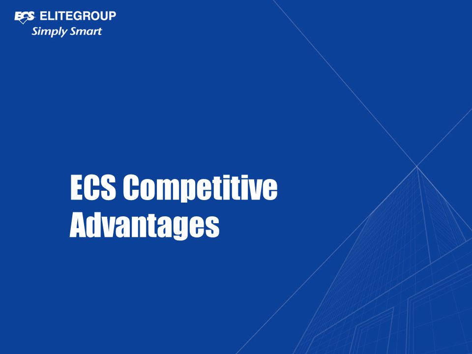 ECS Competitive Advantages