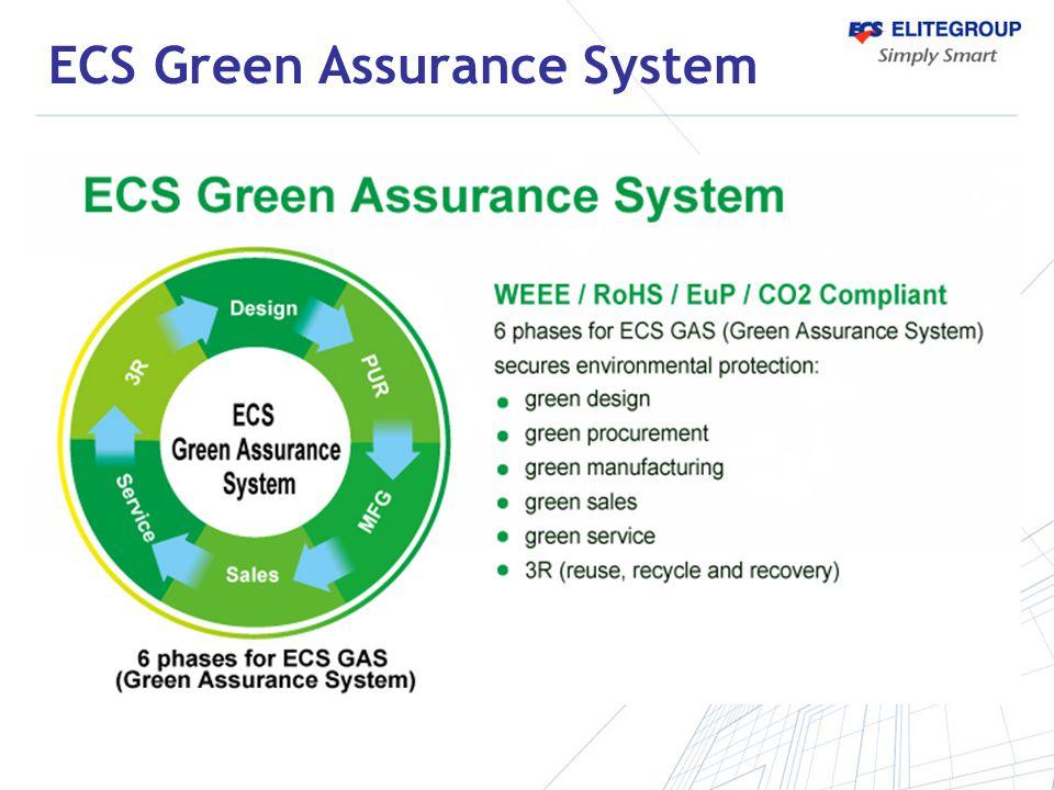 ECS Green Assurance System