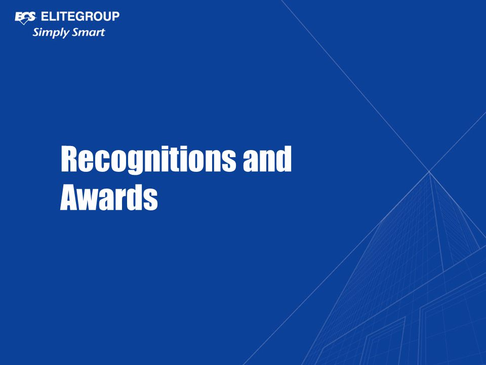 Recognitions and Awards