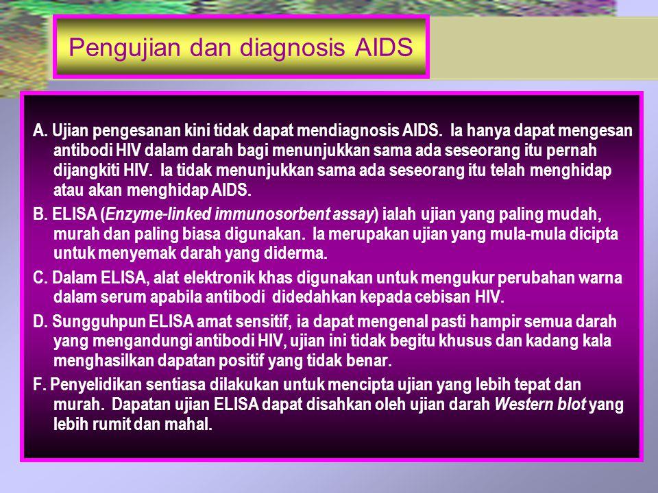 Pengujian dan diagnosis AIDS