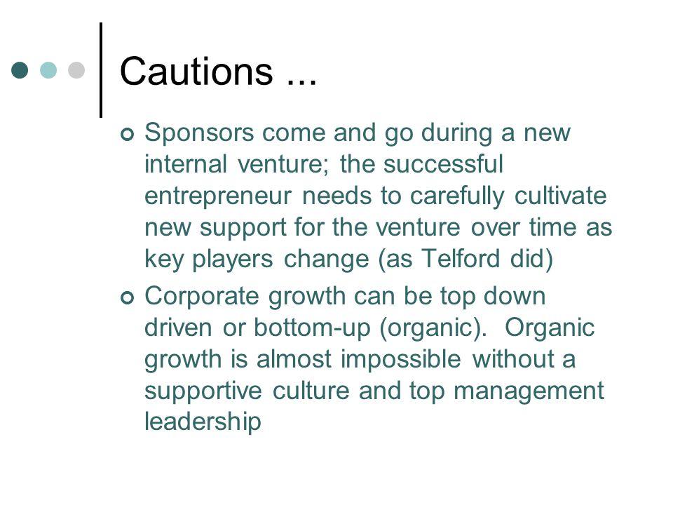Cautions ...