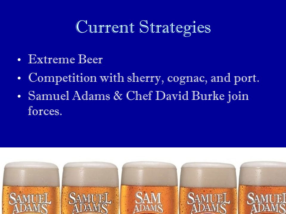 Current Strategies Extreme Beer