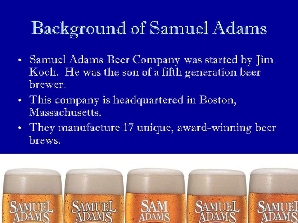 Background of Samuel Adams