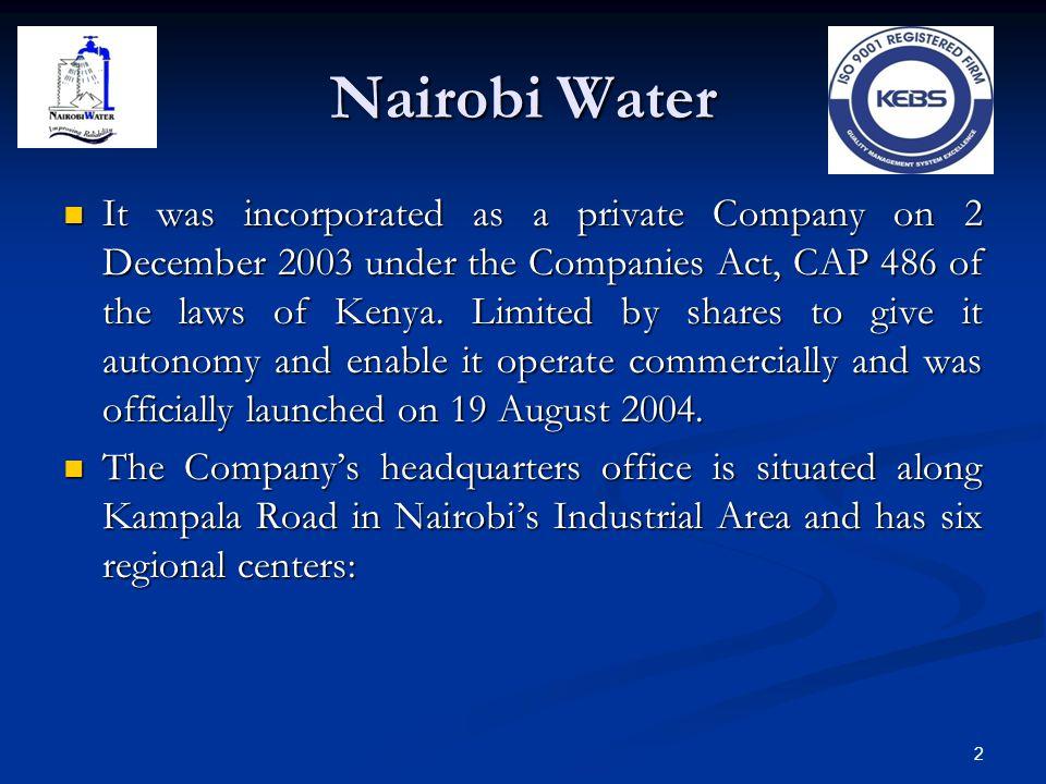Nairobi Water