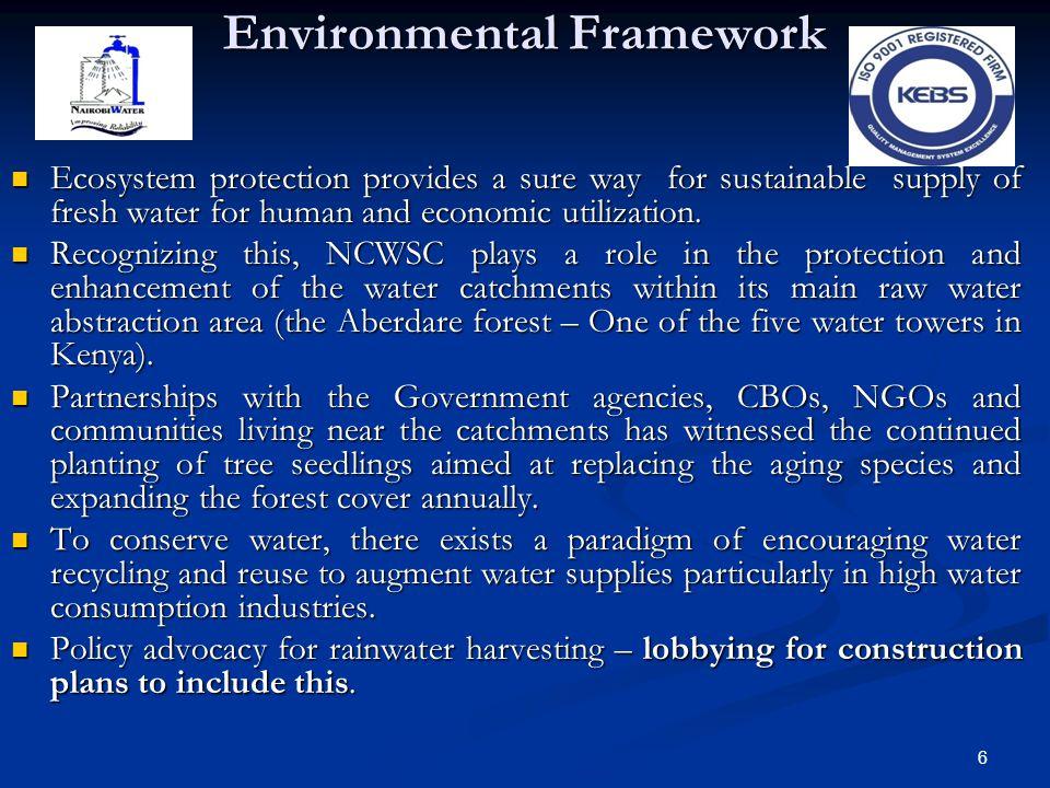 Environmental Framework
