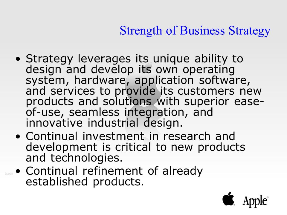 Strength of Business Strategy
