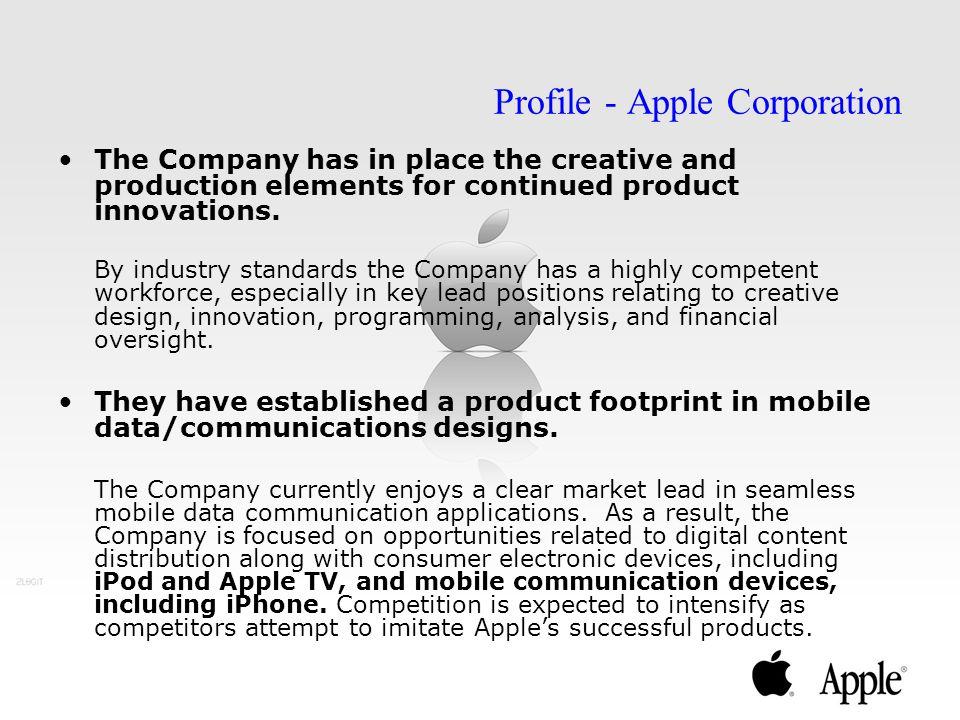 Profile - Apple Corporation