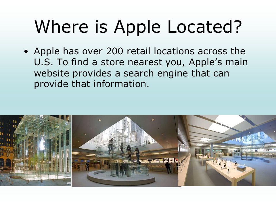 Where is Apple Located