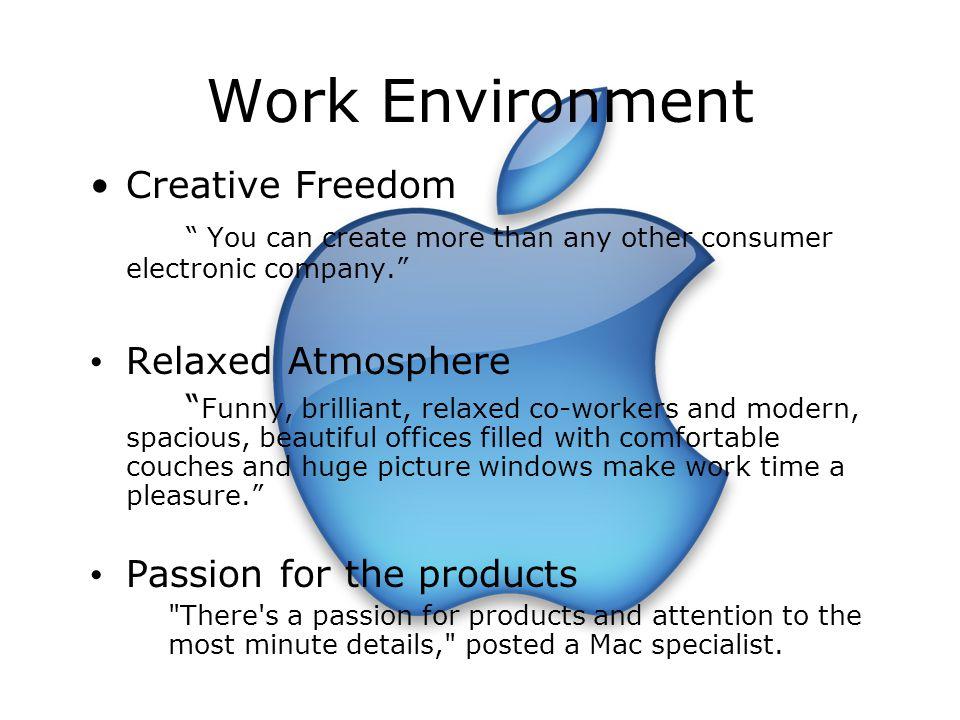 Work Environment Creative Freedom