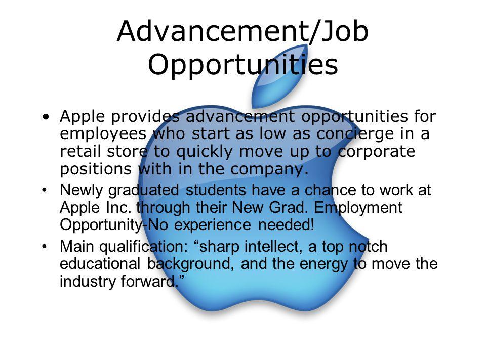 Advancement/Job Opportunities