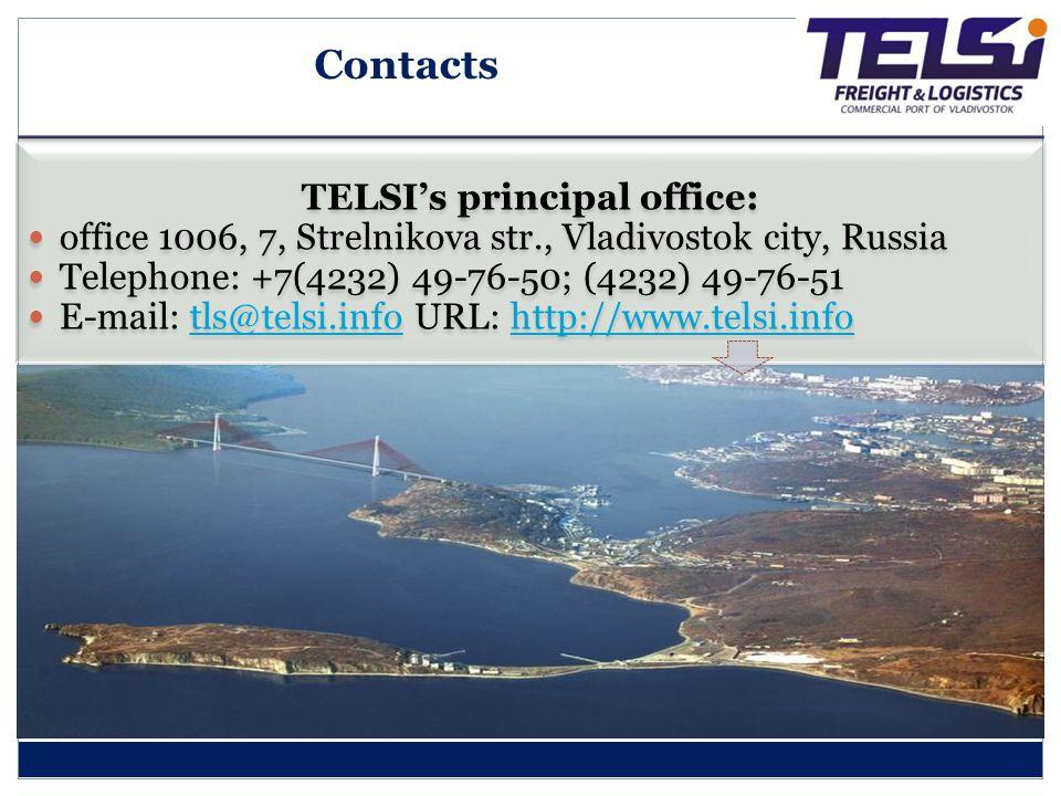 TELSI's principal office: