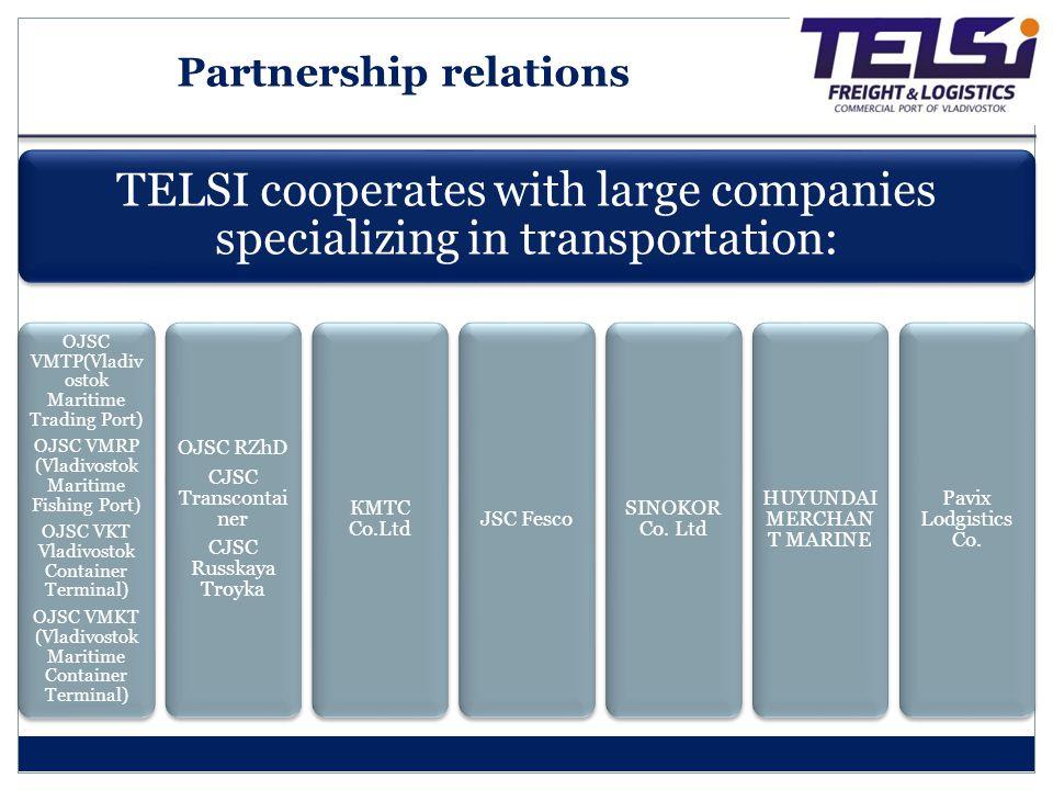 Partnership relations