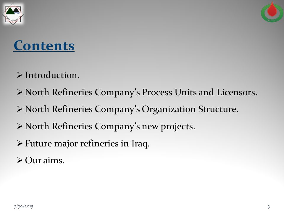 Contents Introduction.