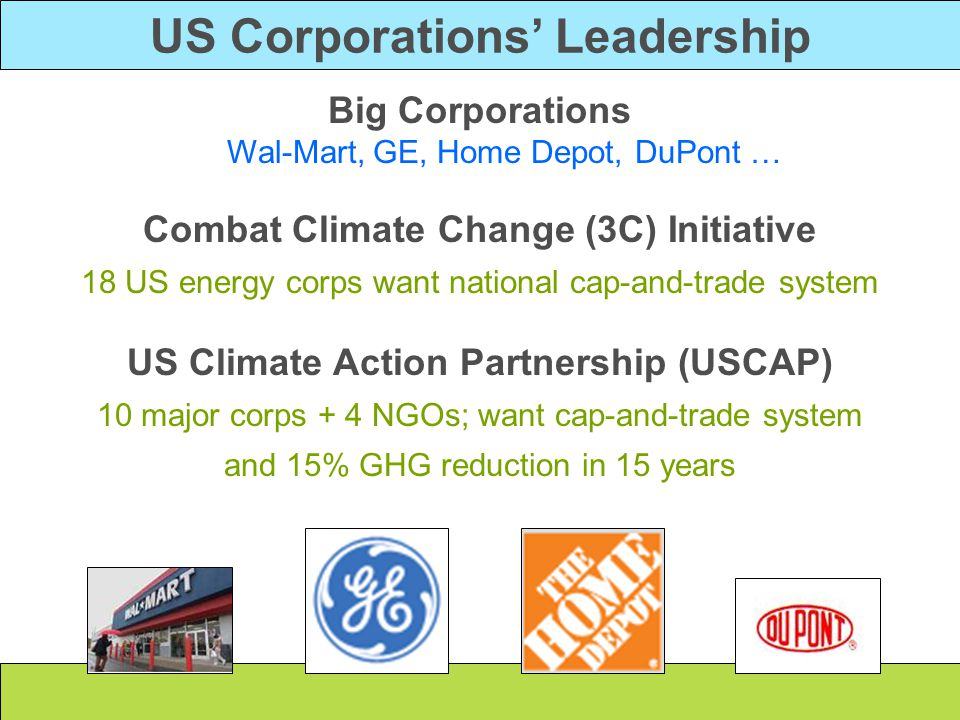 US Corporations' Leadership