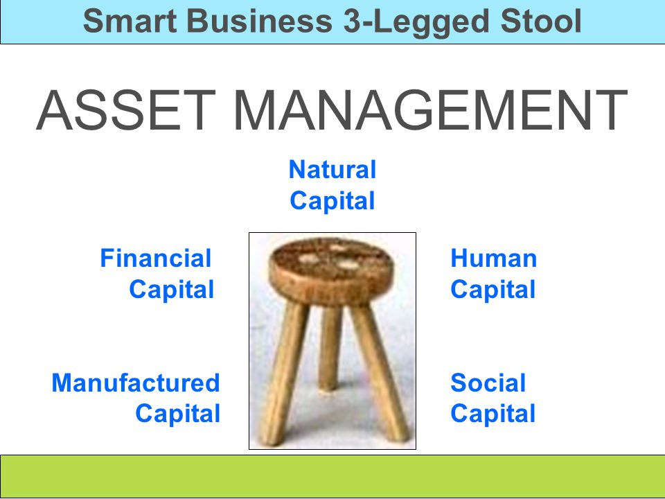 Smart Business 3-Legged Stool