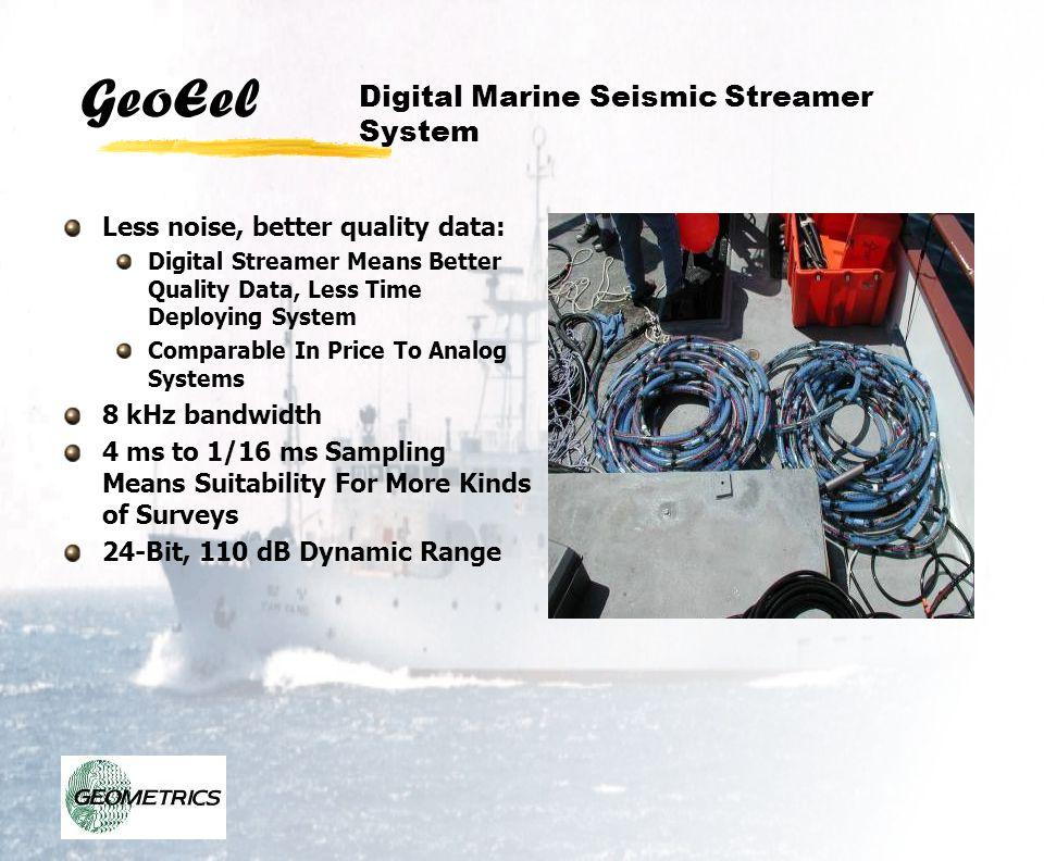 Digital Marine Seismic Streamer System