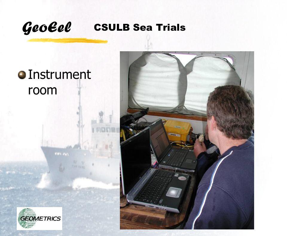CSULB Sea Trials Instrument room