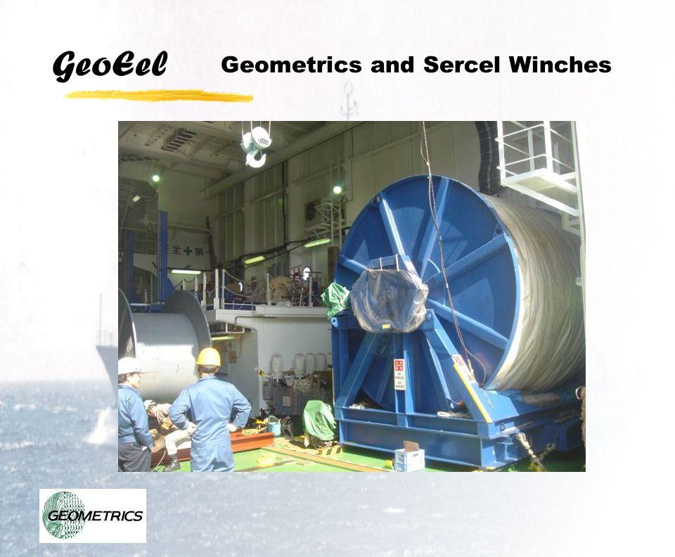 Geometrics and Sercel Winches