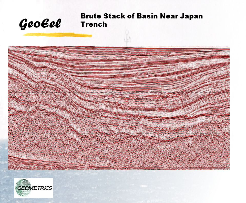Brute Stack of Basin Near Japan Trench