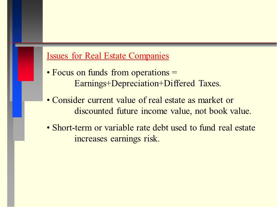 Issues for Real Estate Companies