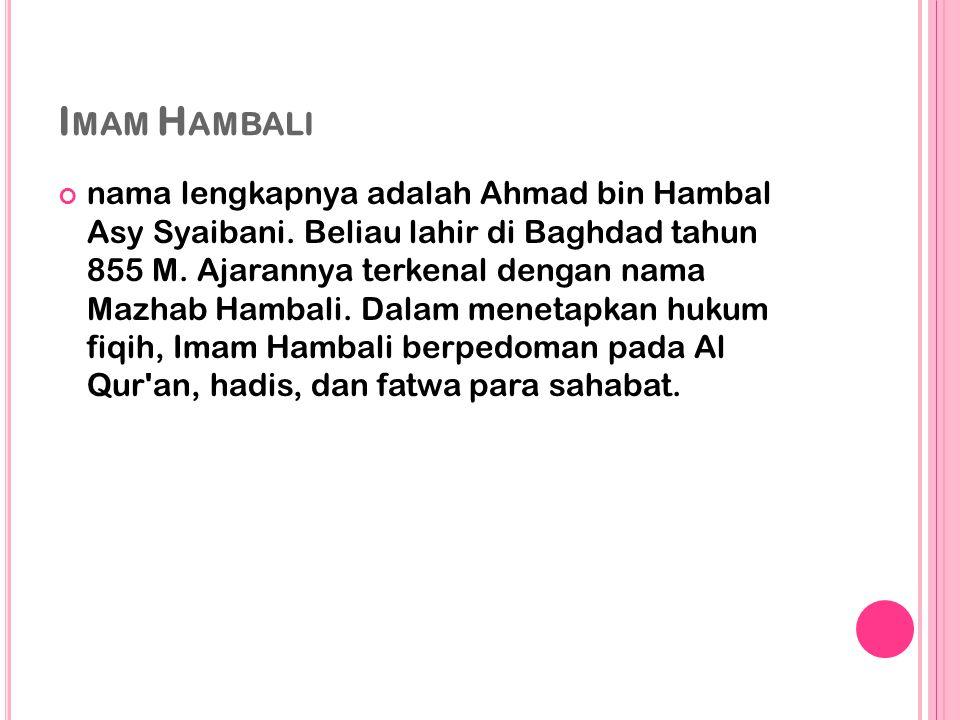 Imam Hambali