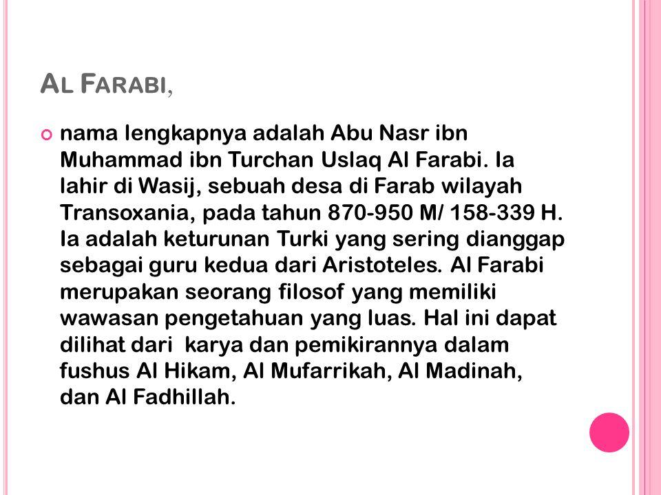 Al Farabi,