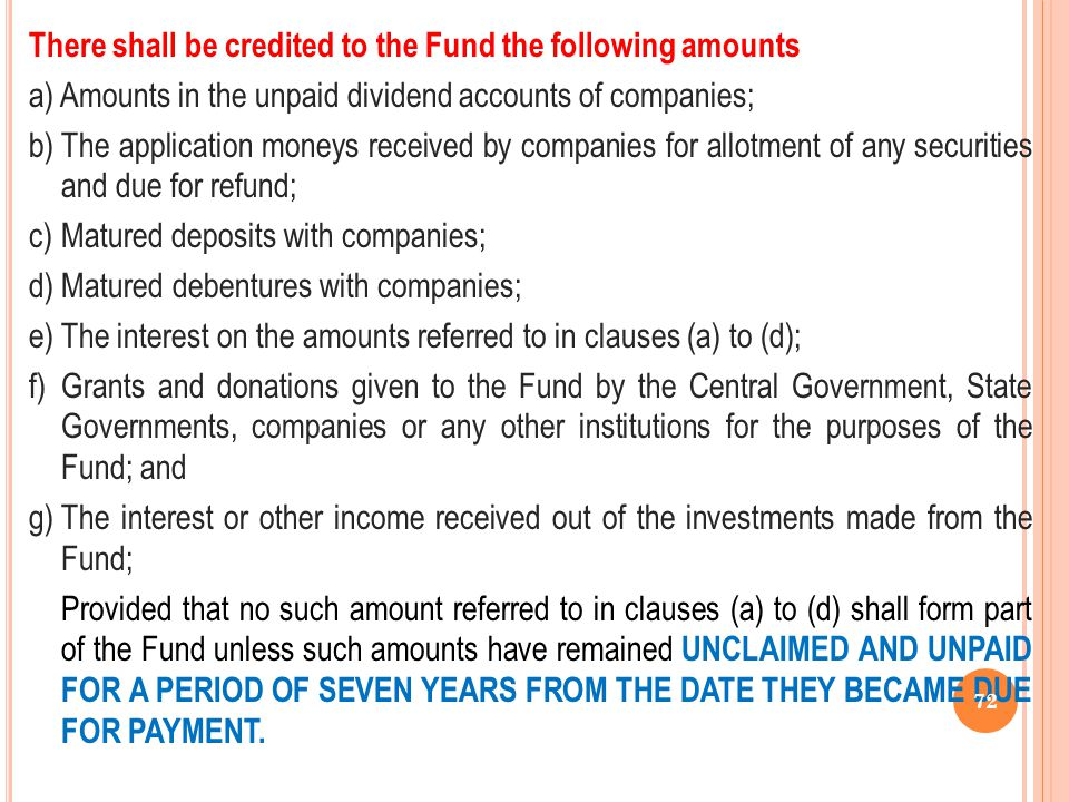 There shall be credited to the Fund the following amounts