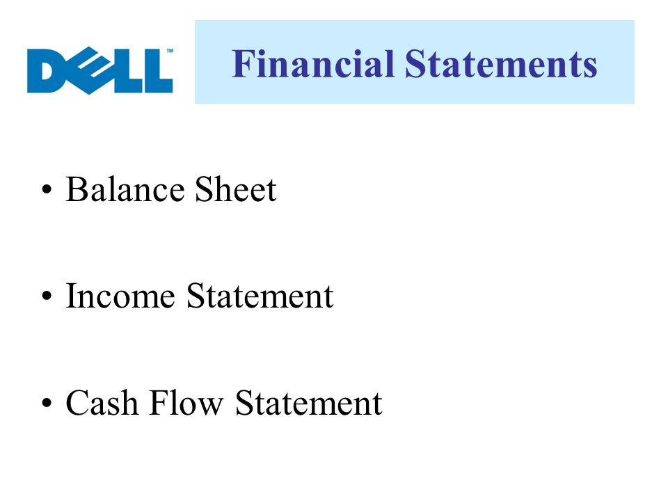 Financial Statements Balance Sheet Income Statement