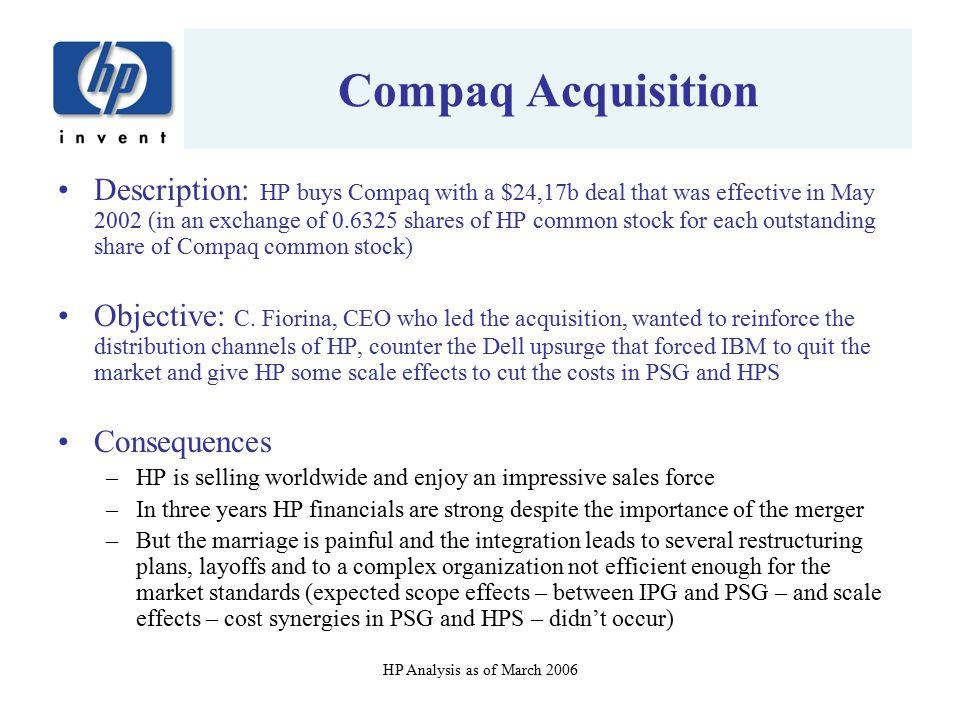 Compaq Acquisition