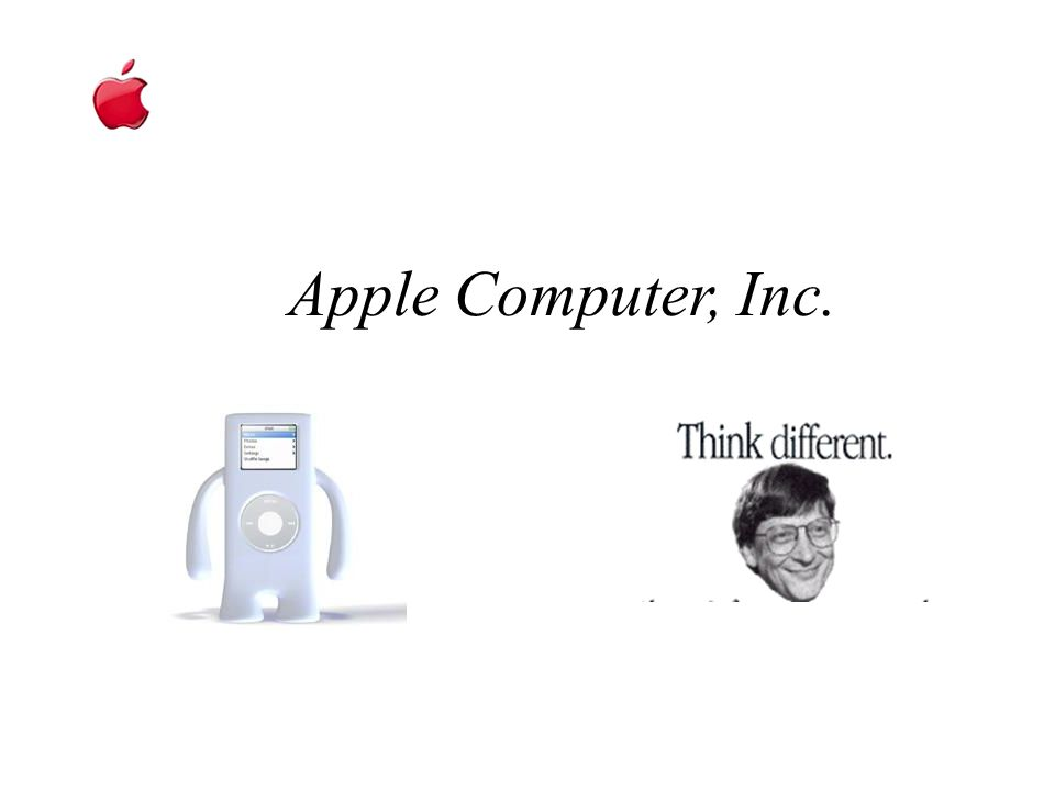 Apple Computer, Inc.