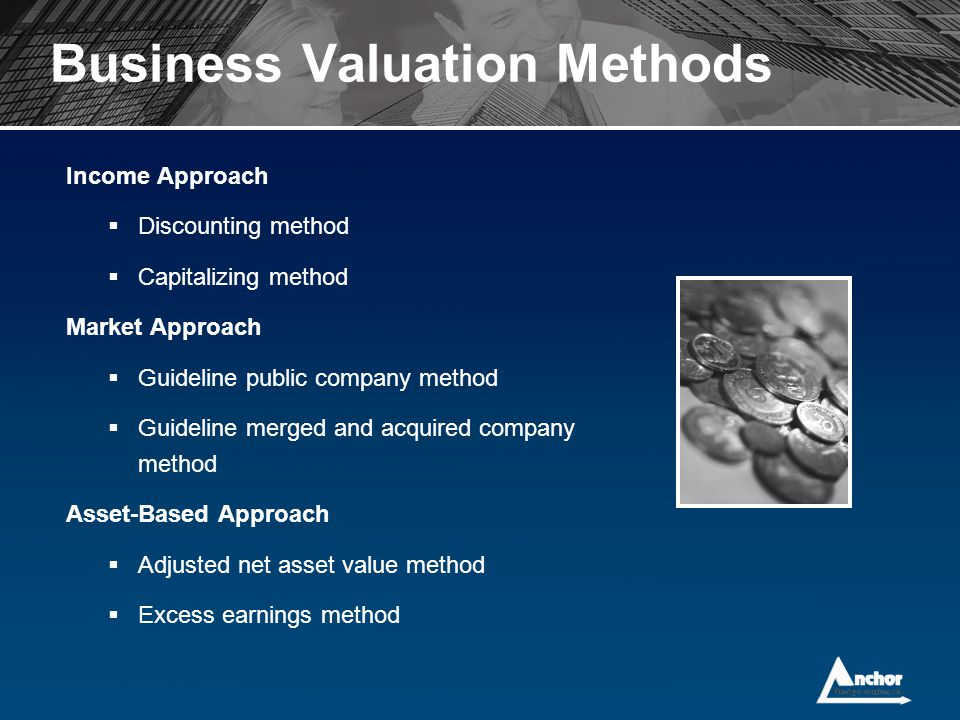 methods of valuation for mergers and