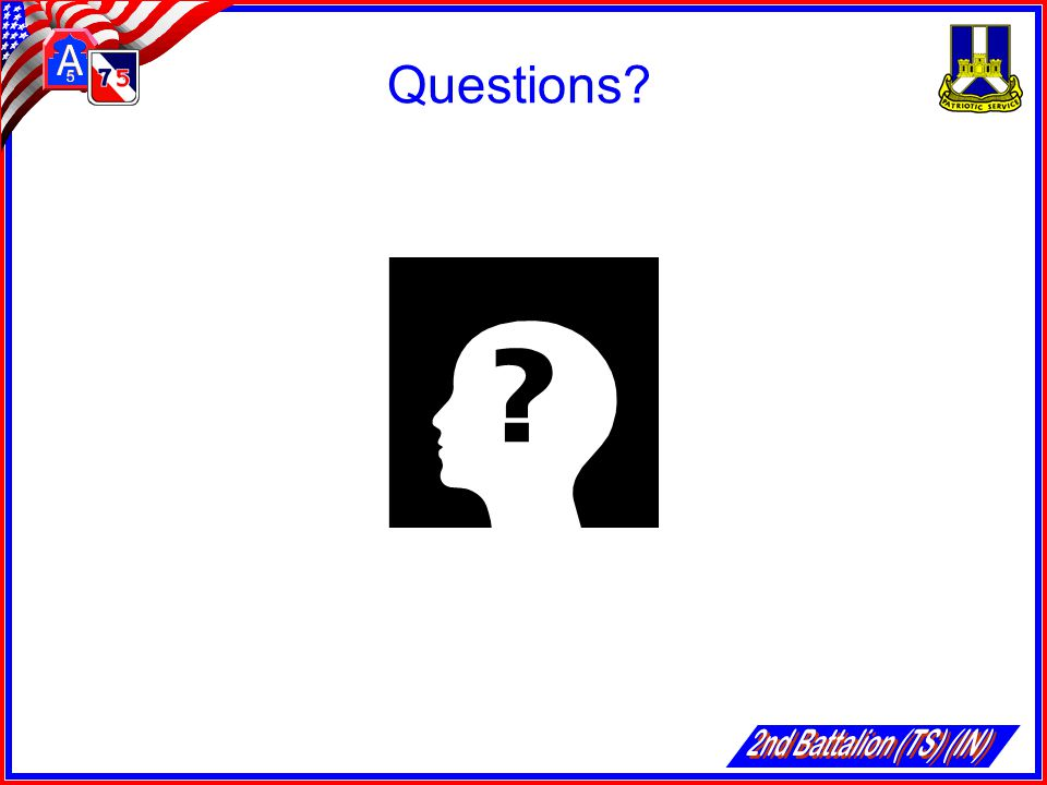 Questions 2nd Battalion (TS) (IN)