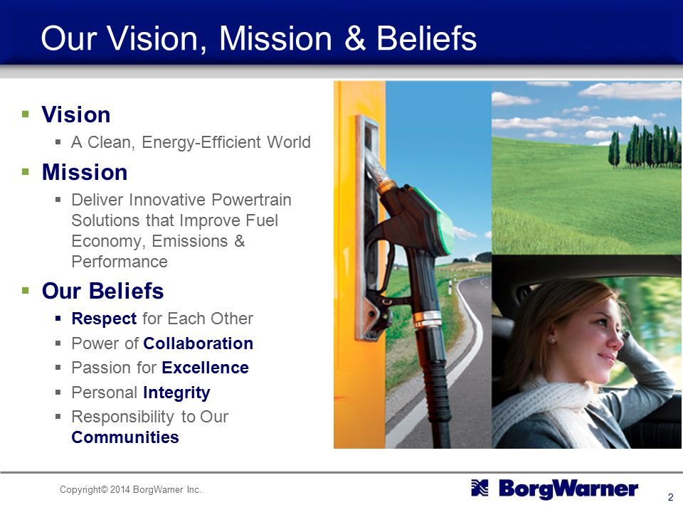 Our Vision, Mission & Beliefs