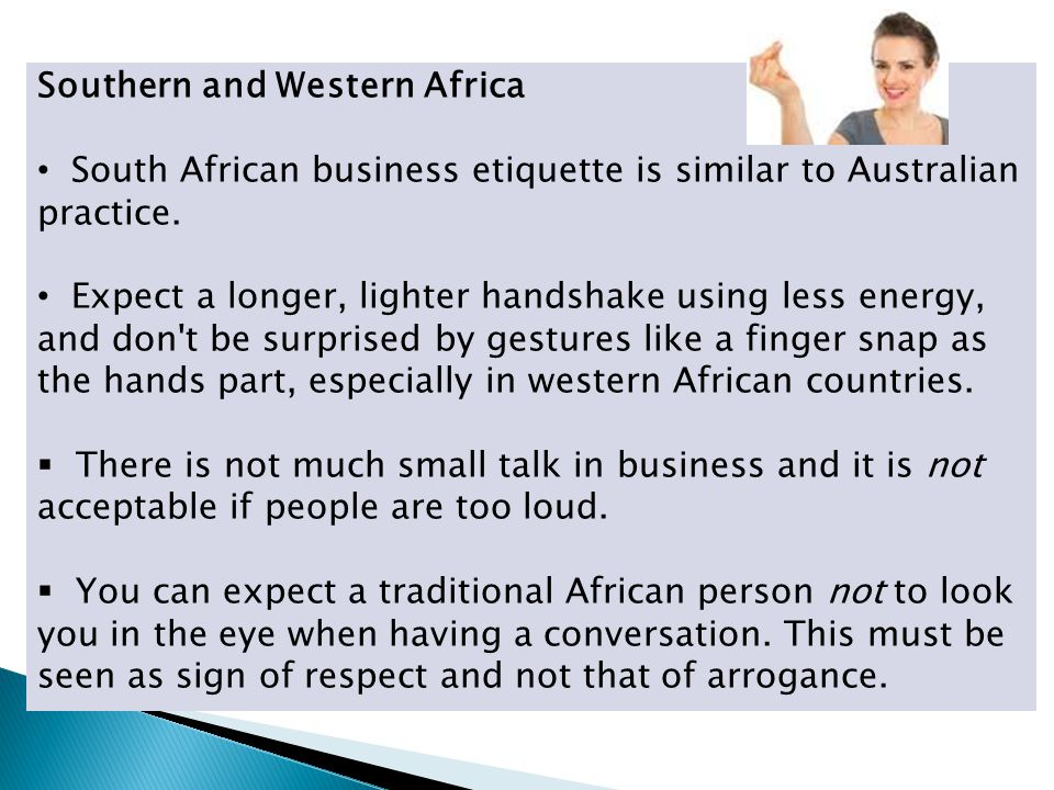 Southern and Western Africa