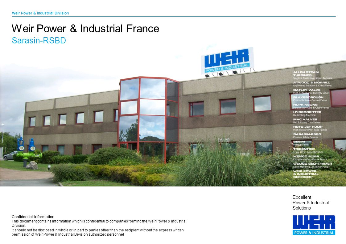 Weir Power & Industrial France