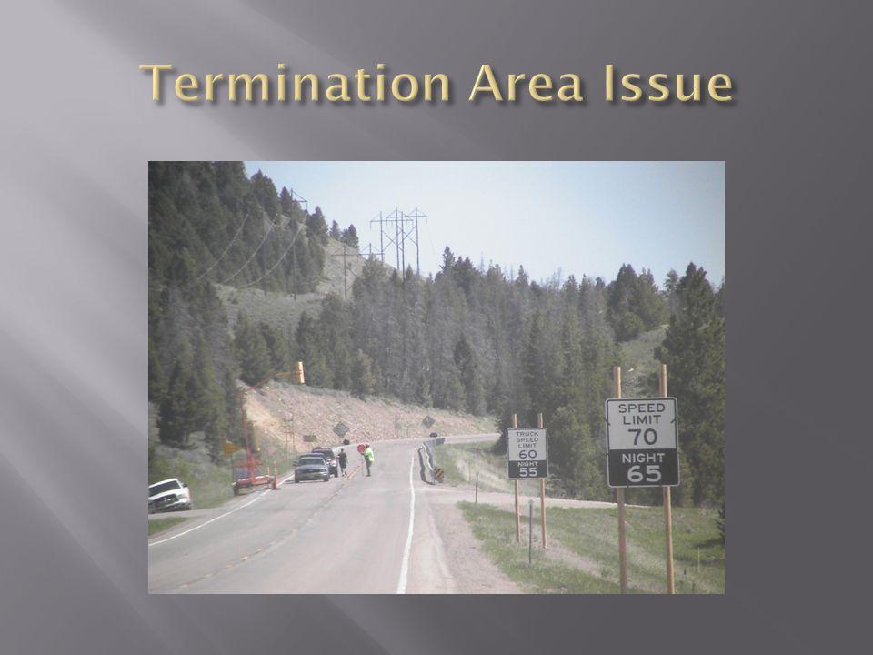Termination Area Issue