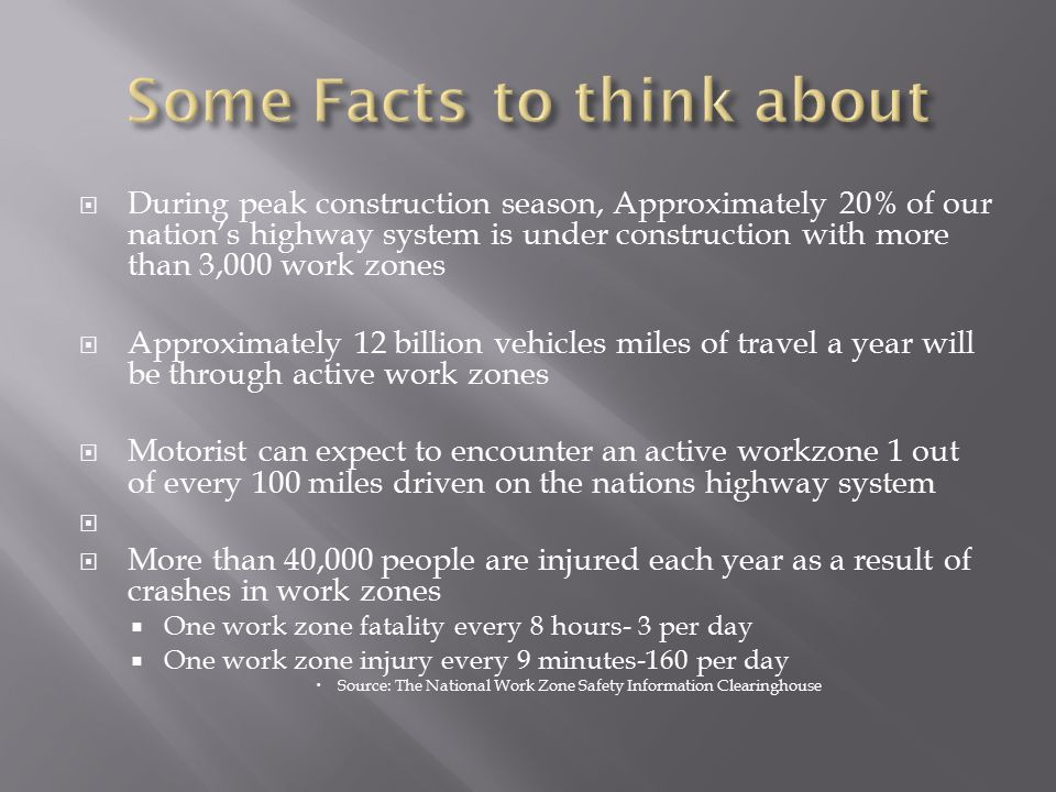 Some Facts to think about