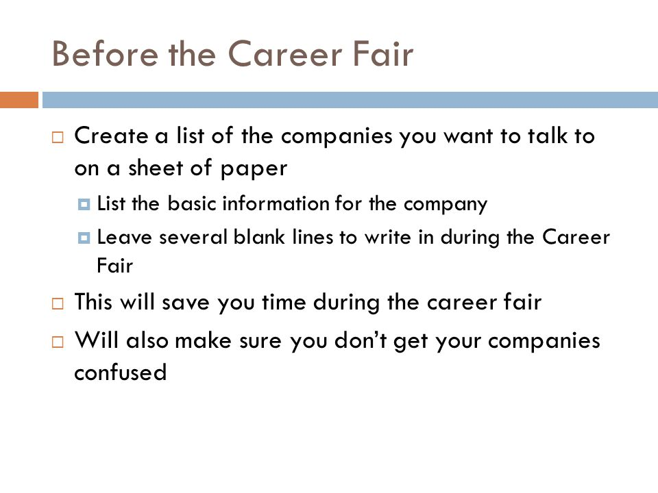How Many Resume Copies To Bring To Career Fair