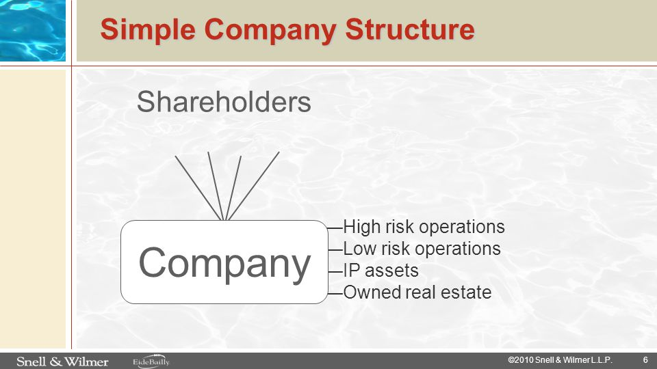 Simple Company Structure