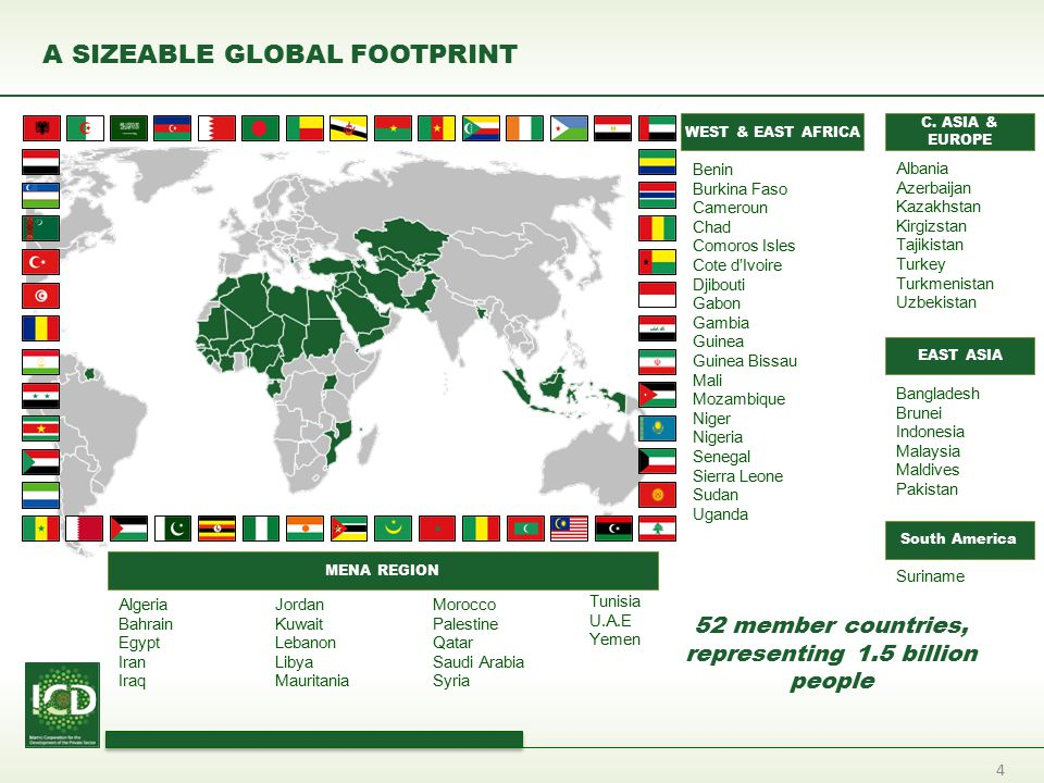 A SIZEABLE GLOBAL FOOTPRINT