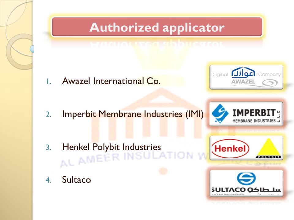 Authorized applicator