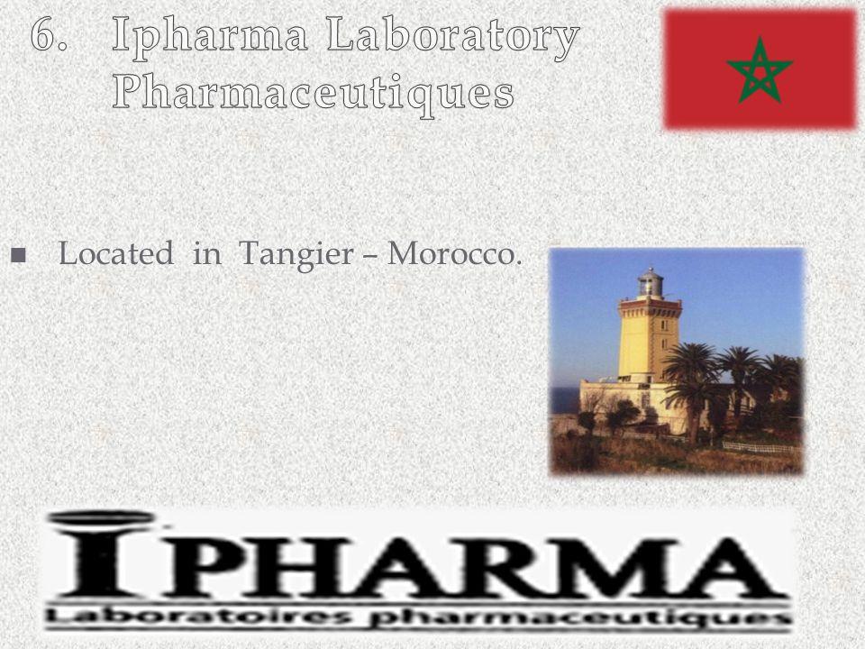 6. Ipharma Laboratory Pharmaceutiques