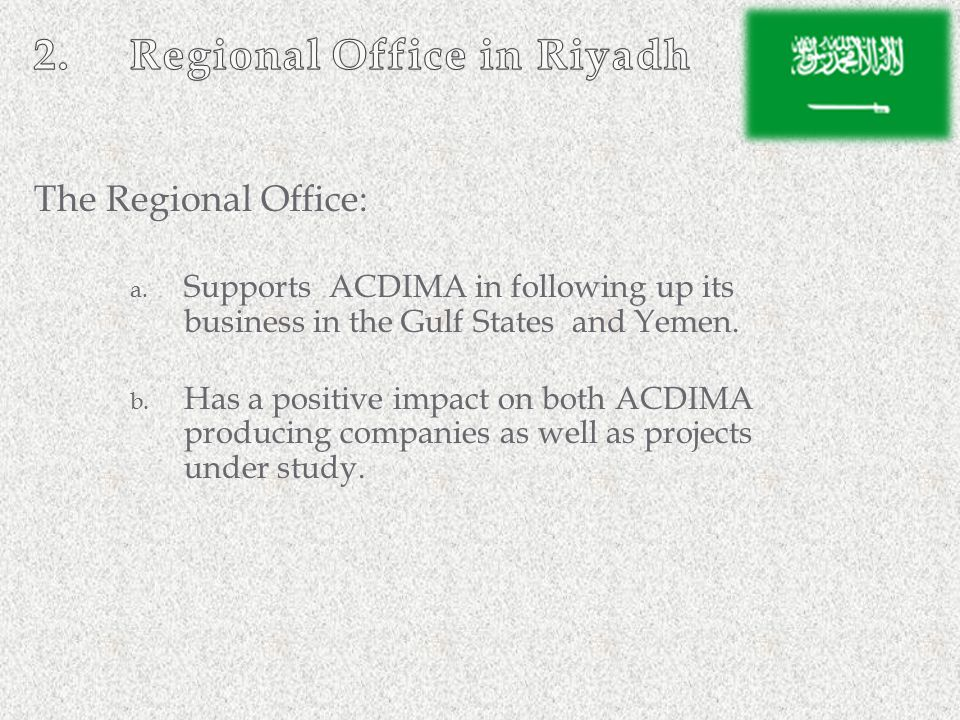 Regional Office in Riyadh