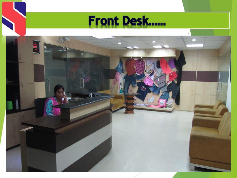 Front Desk……