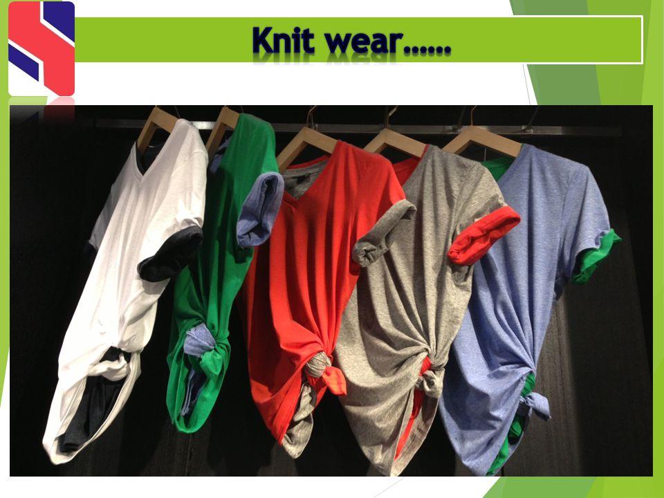 Knit wear……
