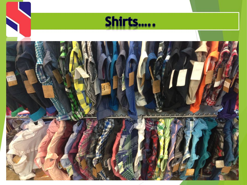 Shirts…..