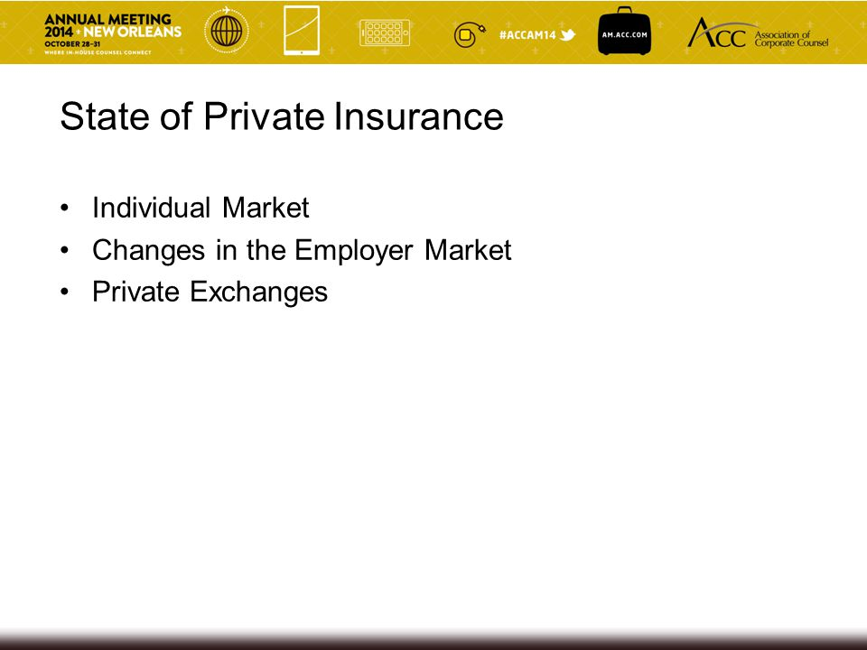 State of Private Insurance