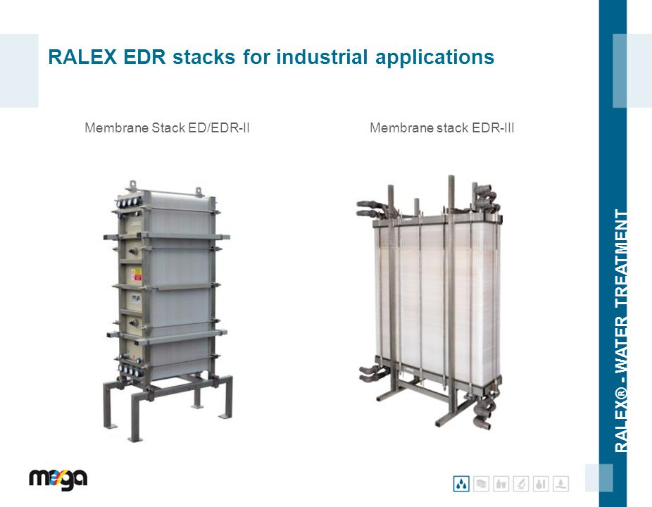 RALEX EDR stacks for industrial applications