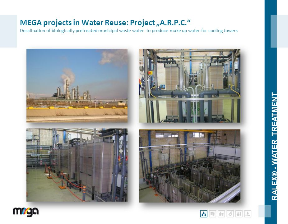 "MEGA projects in Water Reuse: Project ""A. R. P. C"